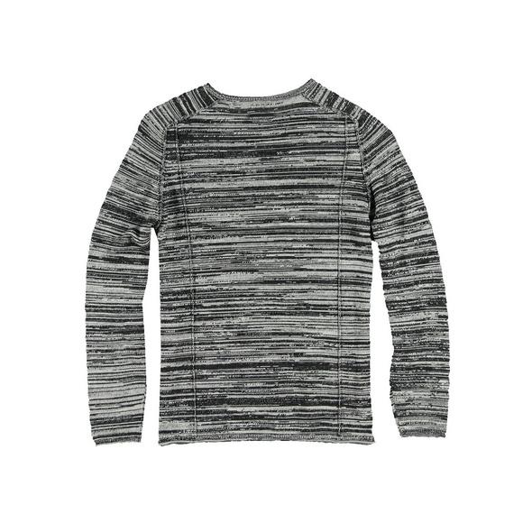 Pullover rundhals gestreift