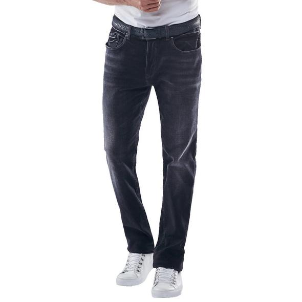 Elastische Jeans mit Wascheffekten