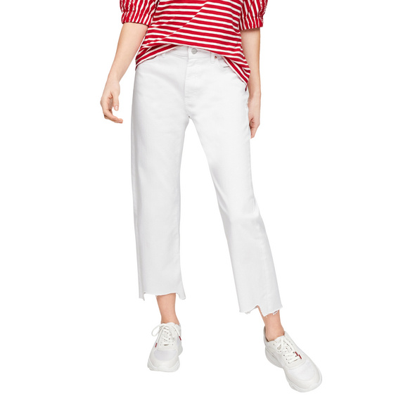 Regular Fit: Straight ankle leg-Jeans - 7/8-Jeans