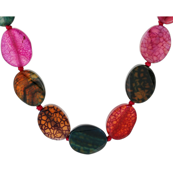 Kette - Green and Red