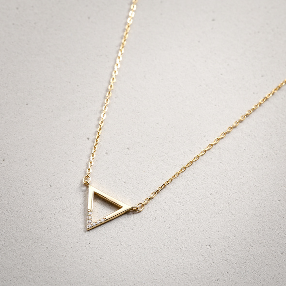 Kette - Lovely Triangle