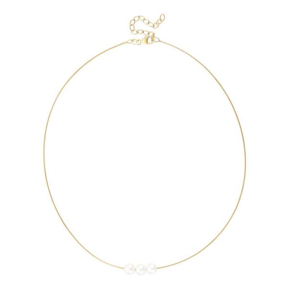 Kette - Gold Pearls