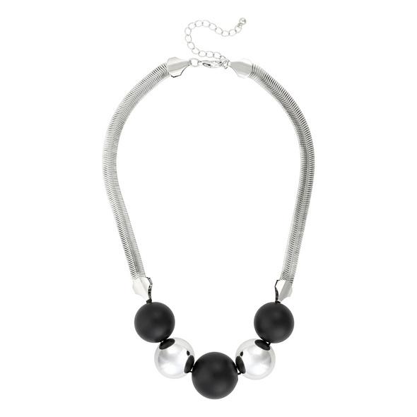 Kette - Black Silver