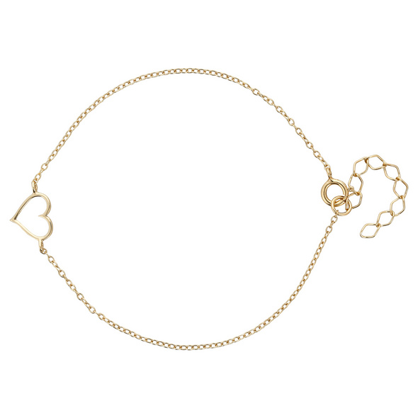 Armband - Golden Heart