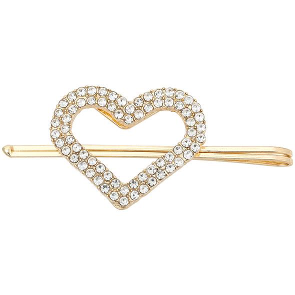 Haarnadel - Crystal Heart