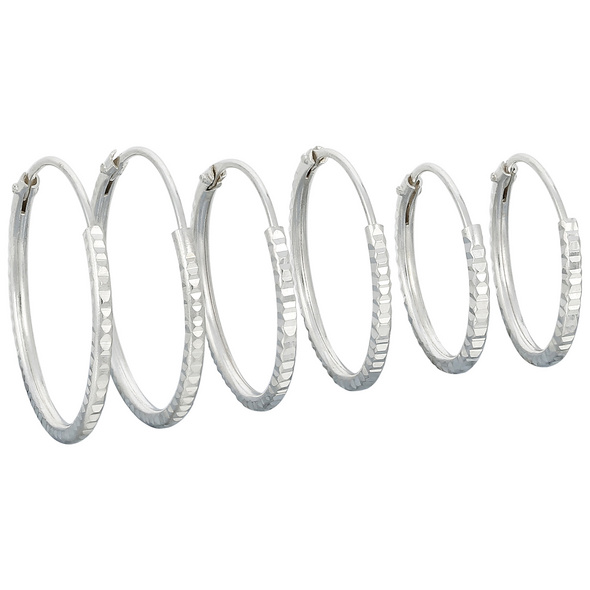 Creolen - Silver Set