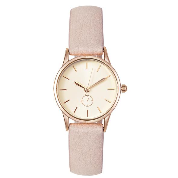 Uhr- Zartes Rosa