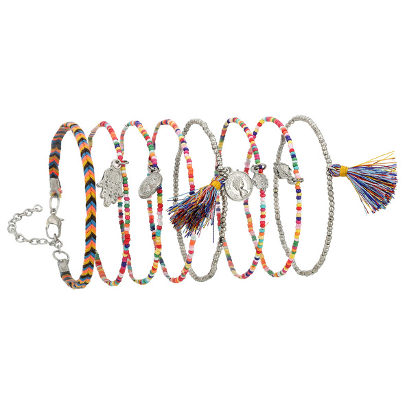 Armband - Colorful Pearls