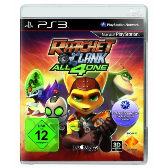 Sony Ratchet & Clank All 4 One