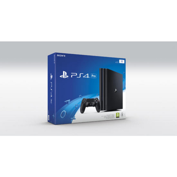 Gebrauchte PlayStation 4 Pro 1TB Konsole ohne Controller
