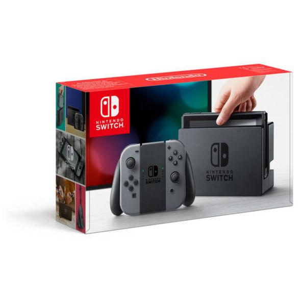 Nintendo Switch Konsole grau