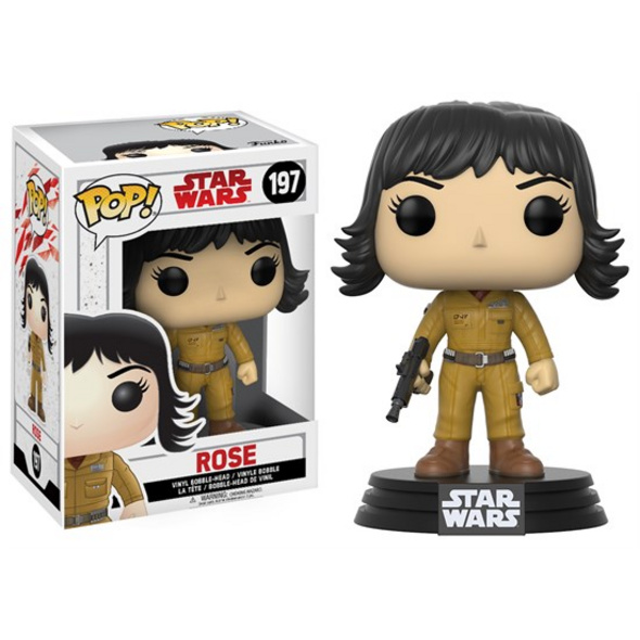 Star Wars Episode VIII - POP! Vinyl-Figur Rose
