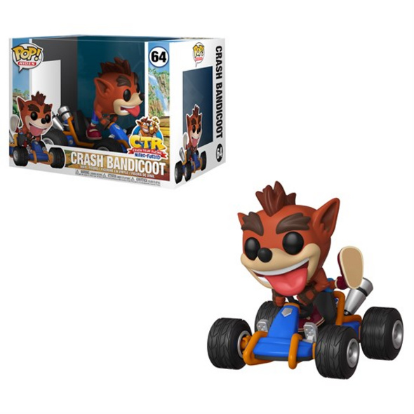Crash Bandicoot - POP! Vinyl-Figur Crash Bandicoot Team Racing