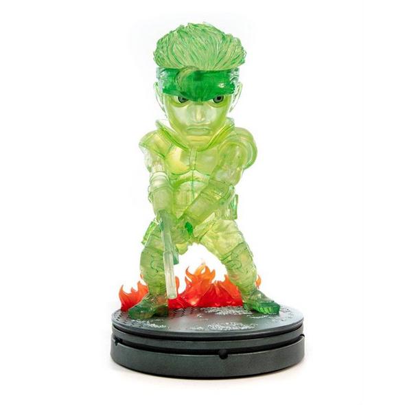 Metal Gear Solid - Statue Solid Snake Tarnung Neon Grün