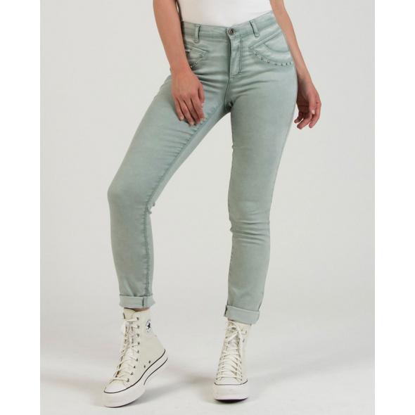Cool-Dyed Hose mit Nieten