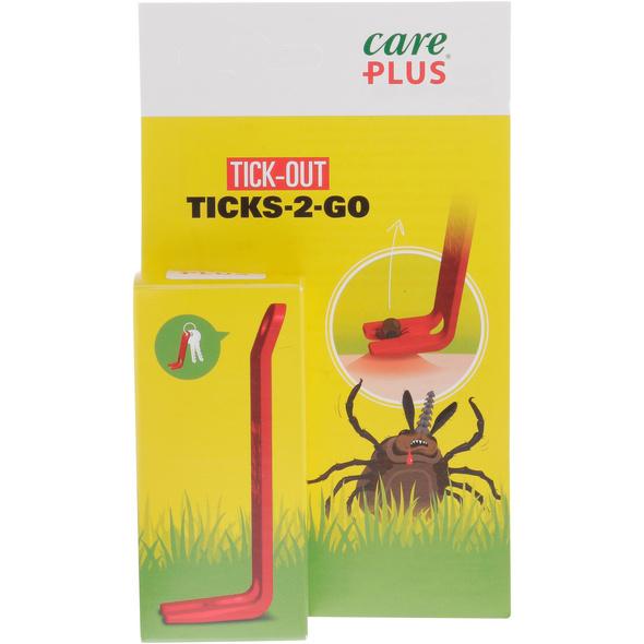 Care Plus Tick Out Ticks-2-Go Zeckenset