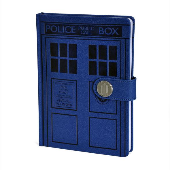 Doctor Who - Tardis Premium Notizbuch A5