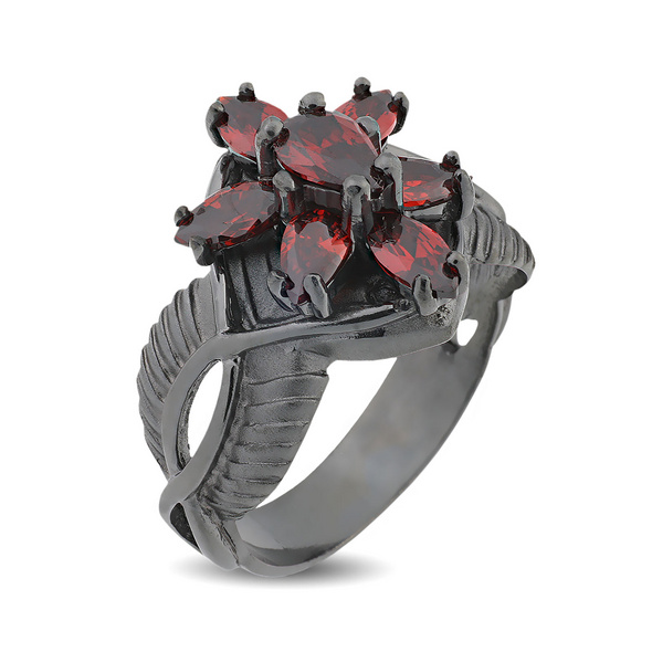 Arwens Abendstern Ring rot Dark Years Collection
