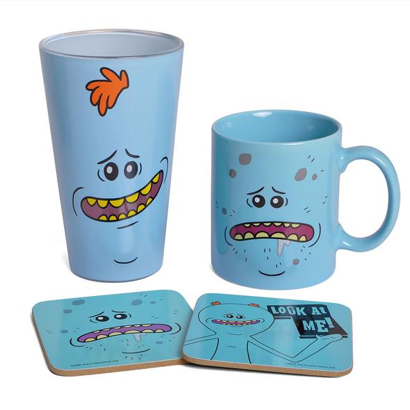 Rick and Morty - Mr. Meeseeks Geschenkset