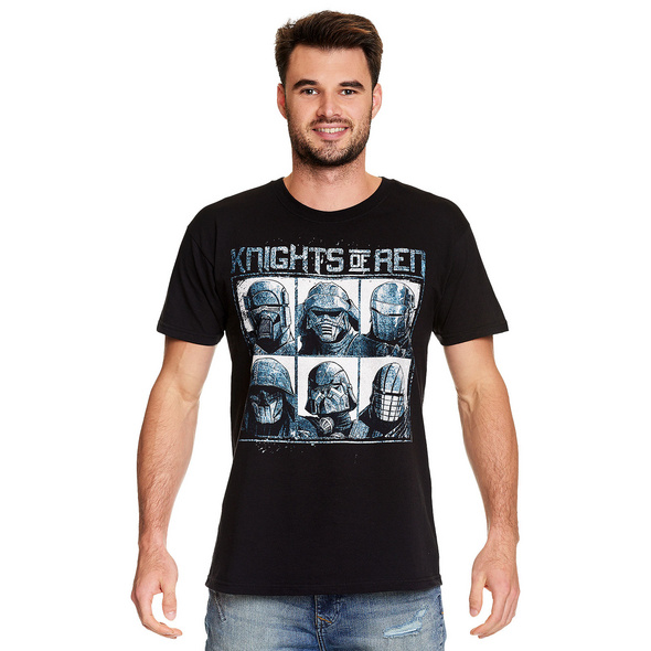 Star Wars - Knights of Ren T-Shirt schwarz