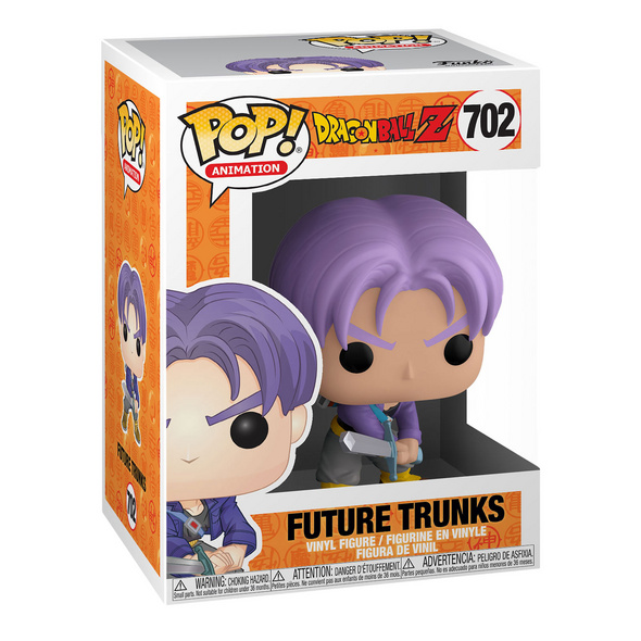 Dragon Ball Z - Future Trunks Funko Pop Figur