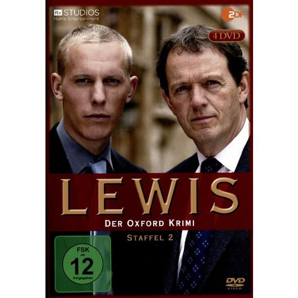 Lewis - Der Oxford Krimi: Staffel 2 (4 Discs)