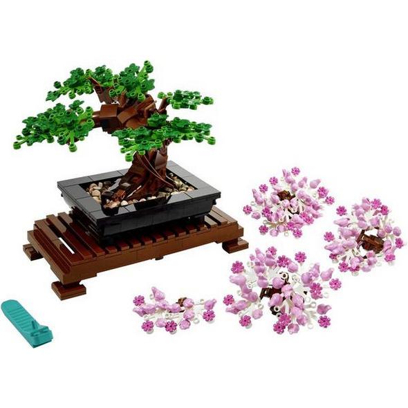 LEGO® Creator 10281 - Bonsai Baum, Botanik Kollektion, Dekoration,