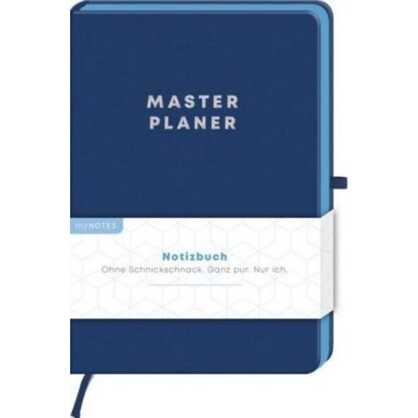 MyNOTES Notizbuch Classics Masterplaner - Notizbuch im Mediumformat für Träume, Pläne und Ideen