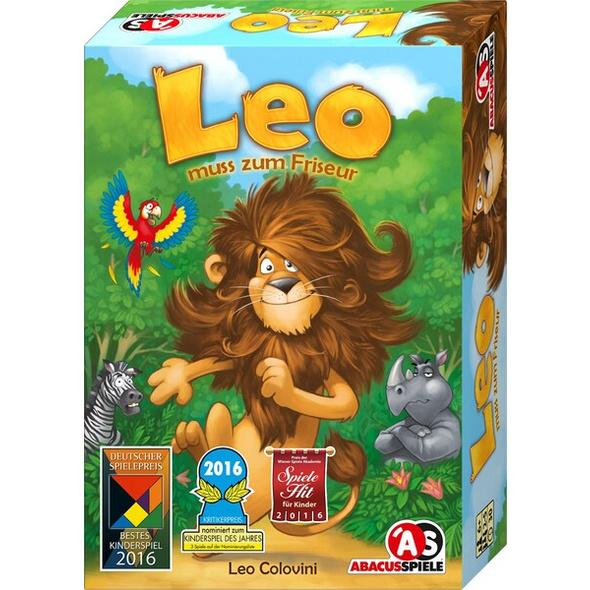 Abacus ABA04161 - Leo muss zum Friseur, Familienspiel