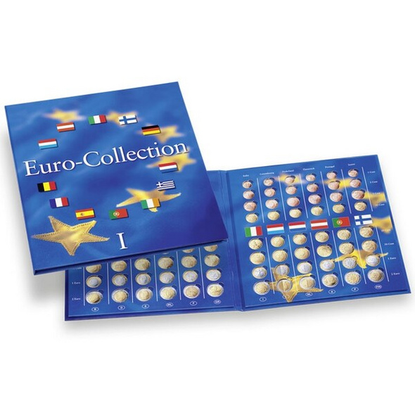 Münzenalbum Euro-Collection Band 1