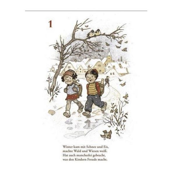 Advents-Abreißkalender 'Für die braven Kinder'