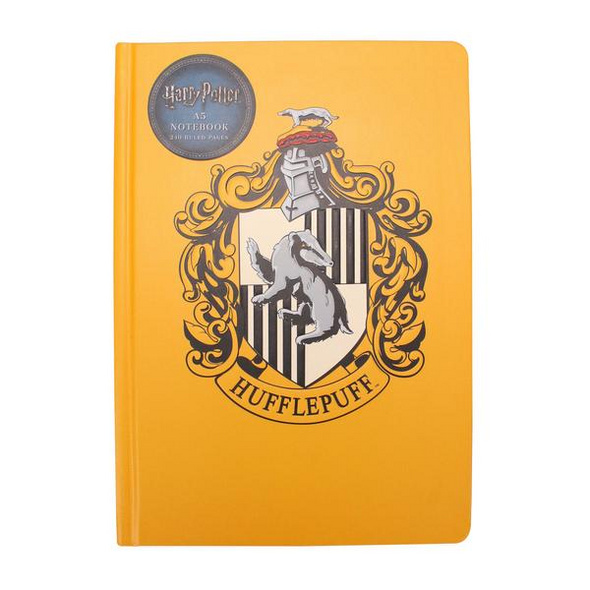 Notizbuch A5 - Harry Potter (Hufflepuff Crest)