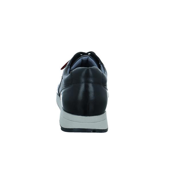 S.Oliver Herren 13627-001 Schwarzer Glattleder Sneaker