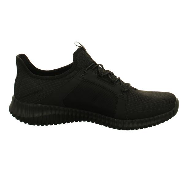 Skechers Herren Elite Flex 52640 Schwarze Synthetik/Textil Sneaker