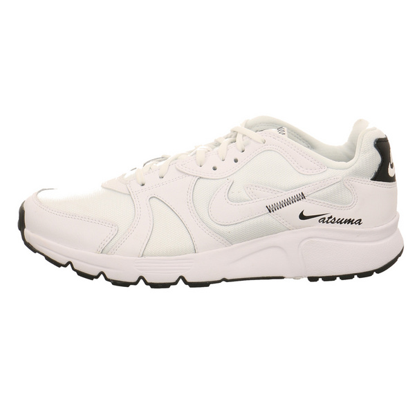Nike Herren Atsuma Weißer Synthetik/Textil Sneaker