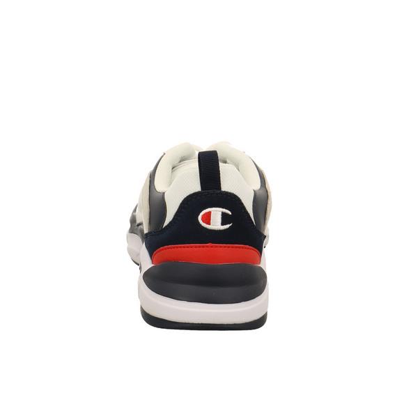Champion Herren Tampa Low Weißer Veloursleder/Synthetik/Textil Sneaker