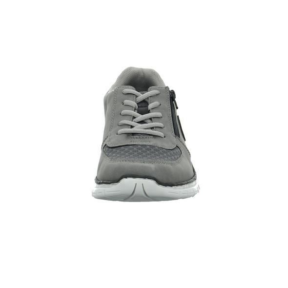 Rieker Herren B4842-42 Grauer Synthetik Sneaker
