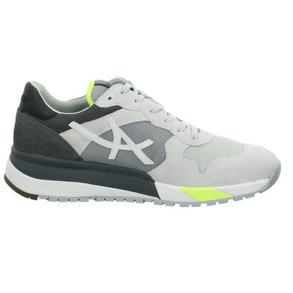 Allrounder Herren Speed Grauer Leder/Textil Sneaker