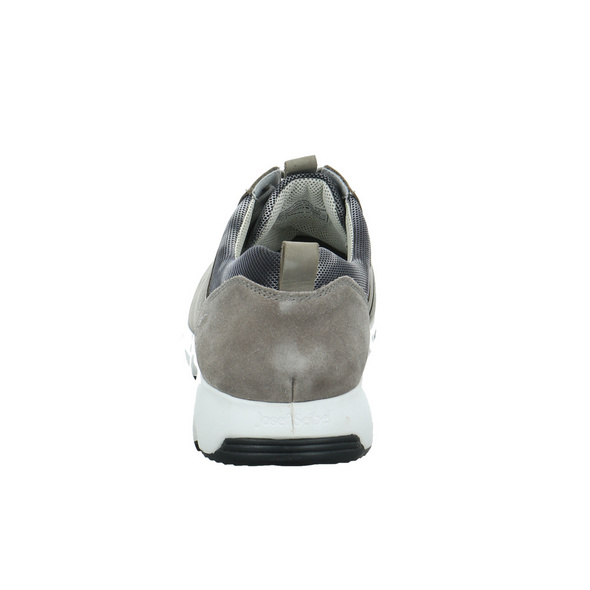 Josef Seibel Herren Noah 02 Grauer Leder/Textil Sneaker