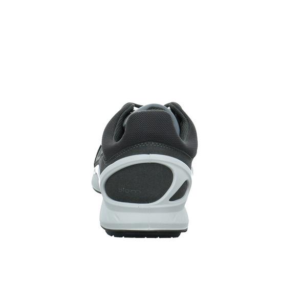 Ecco Herren Biom Fjuel M Grauer Textil Sneaker