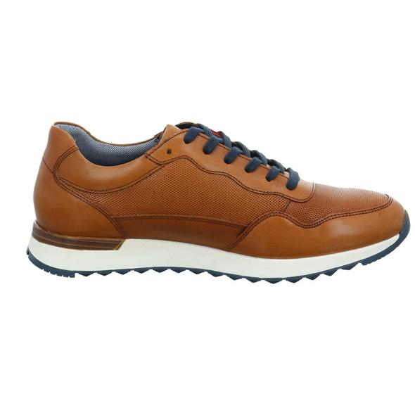 S.Oliver Herren 13627-305 Brauner Glattleder Sneaker