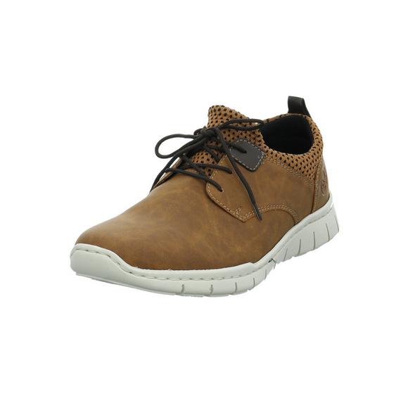 Rieker Herren B8753-26 Brauner Synthetik/textil Sneaker
