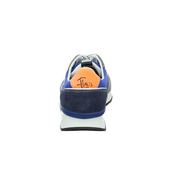 Floris van Bommel Herren 16346/05 Multicolorfarbener Leder/Textil Sneaker