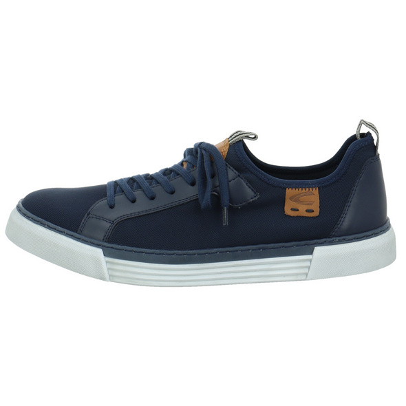 Camel Active Herren Racket Blauer Synthetik/Textil Sneaker