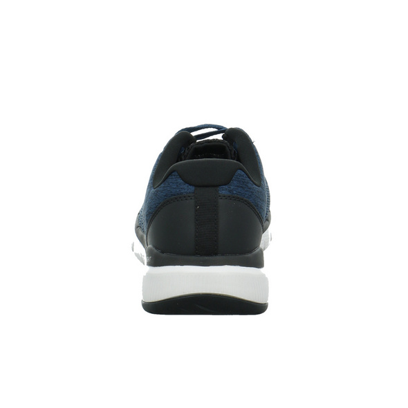 Skechers Herren Flex Advantage 3.0 s Blaue Textil Sneaker