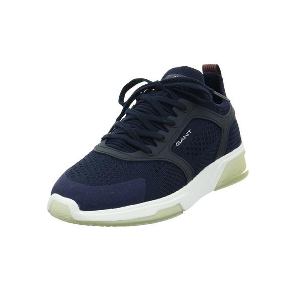 Gant Herren Hightown Blauer Synthetik/Textil Sneaker