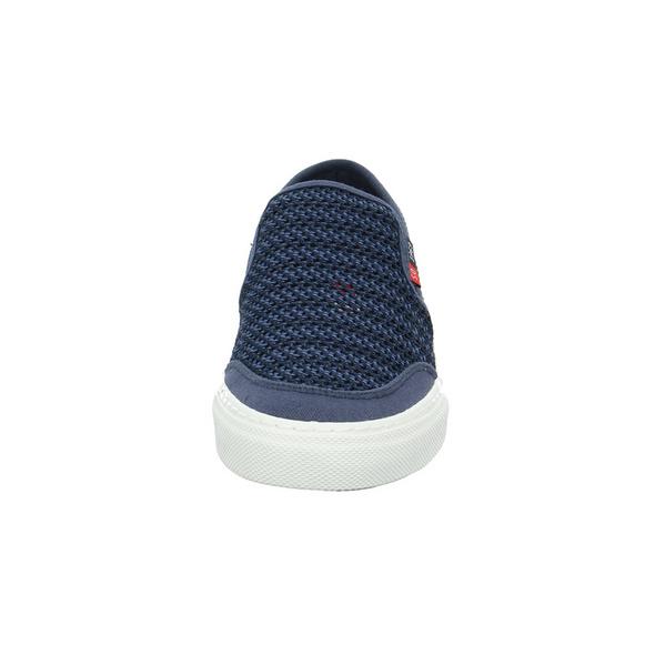 S.Oliver Herren 14601-805 Blauer Textil Slipper