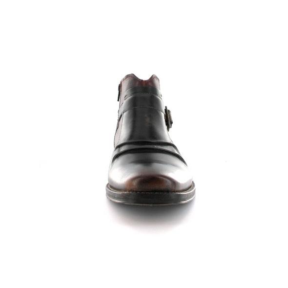 Bugatti Herren Melanio Braun/Blauer Glattleder Boot