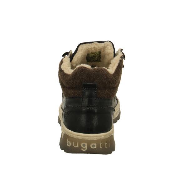 Bugatti Herren Exeter Blaue Glattleder Winterboots