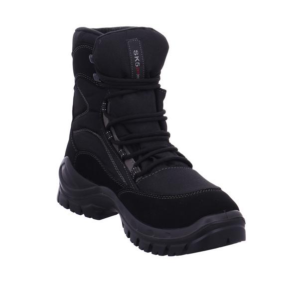 Vista Herren 11-97062 Schwarze Tex Textil Schneestiefel